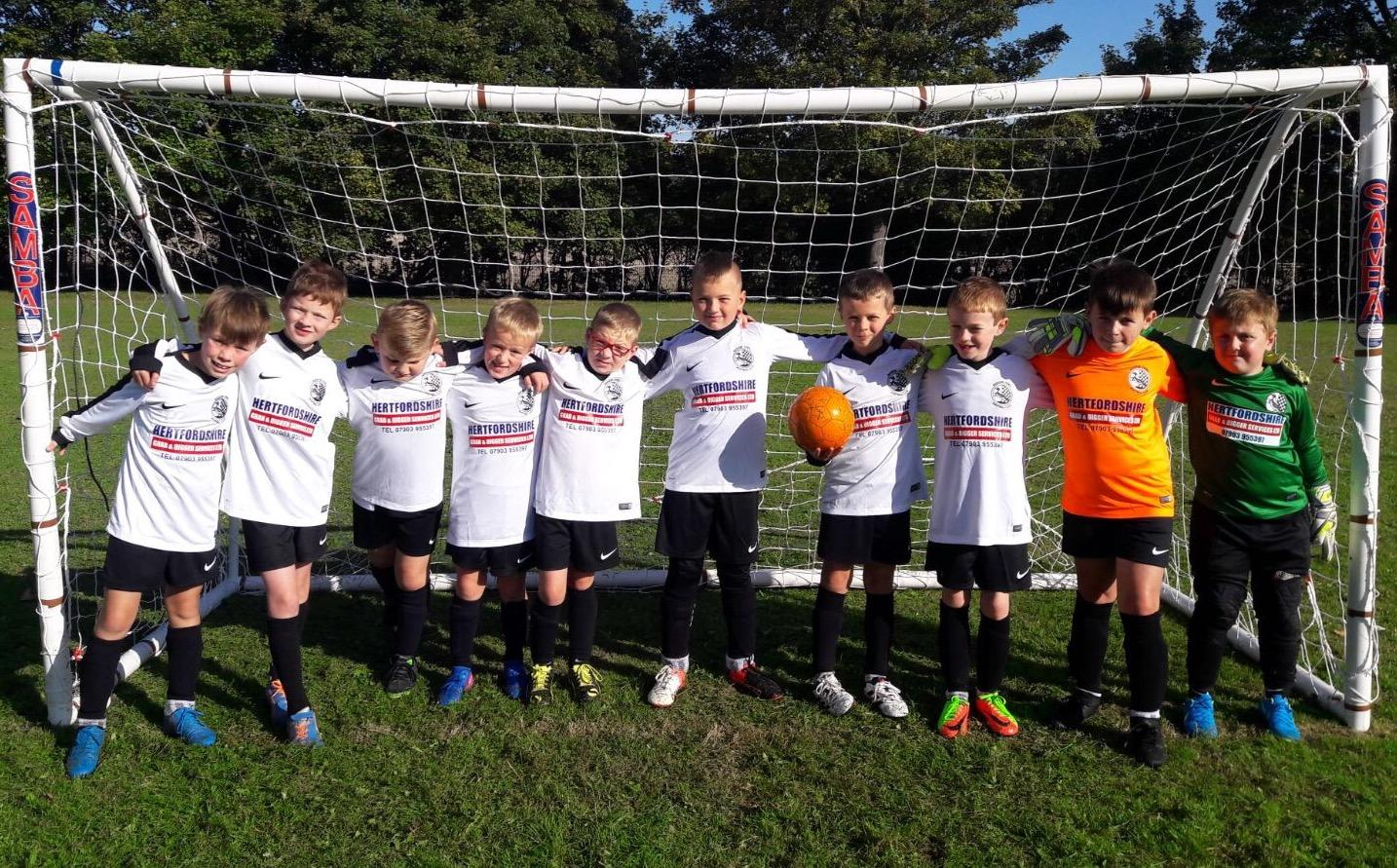 Our Under 9's team - The Falcons