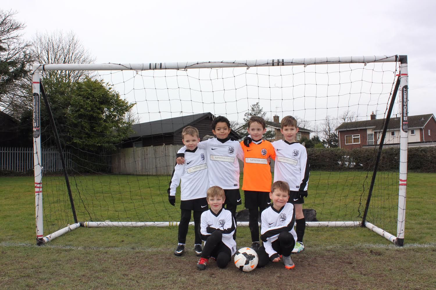 The under 7 Eagles